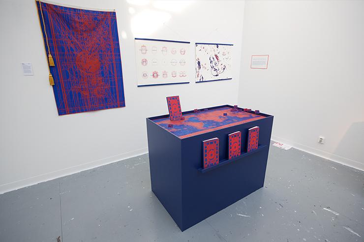 In-betweenia utställning
